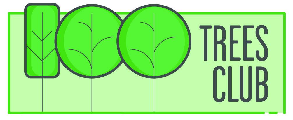 100 Trees Club  Logo