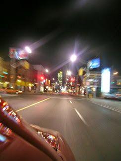 Night drive image