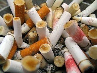 cigarette ends